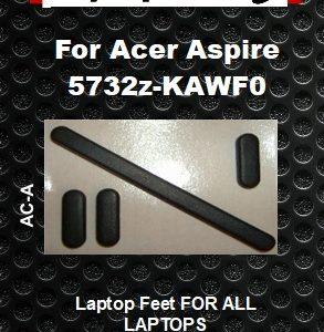 Laptop feet for ACER ASPIRE 5732Z-KAWF0  Compatible kit  (4 pcs self adh.)
