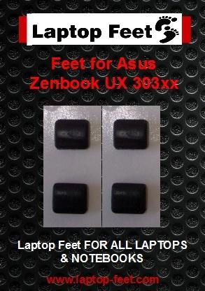 Laptop Feet for Asus UX303xx ZENBOOK compatible kit ( 4 pcs self adhesive 3M)