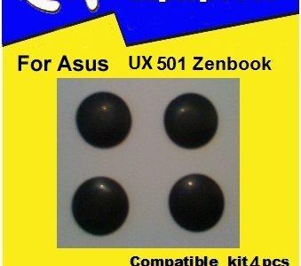 Laptop Feet for Asus UX501 ZENBOOK compatible kit ( 4 pcs self adhesive 3M)