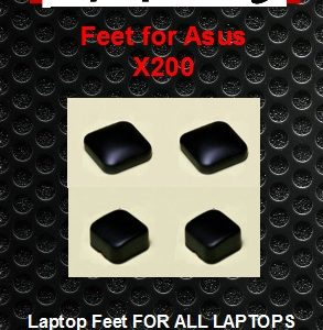 Laptop Feet for Asus X200xx compatible kit ( 4 pcs self adhesive 3M)