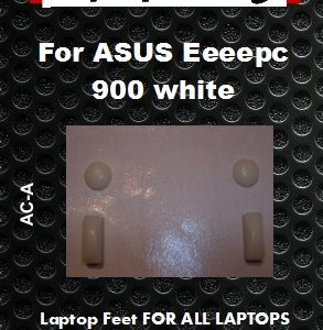 Laptop Feet for Asus Eeee Pc 900 white compatible kit (4 pcs self adhesive)