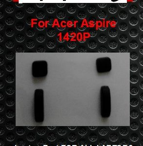 Laptop Feet for Acer Aspire 1420P Series compatible kit ( 4 pcs self adhesive)