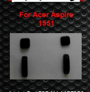 Laptop Feet for Acer Aspire 1551 Series compatible kit ( 4 pcs self adhesive)