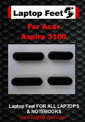 Laptop Feet for Acer Aspire 3100 Series compatible kit ( pcs self adhesive)