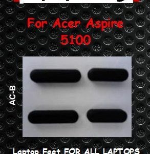 Laptop feet for ACER ASPIRE 5100 Compatible kit  (4 pcs self adh.)