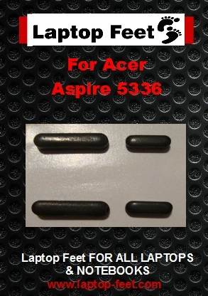 Laptop feet for ACER Aspire 5336 kit compatible  (4 pcs self adh.)