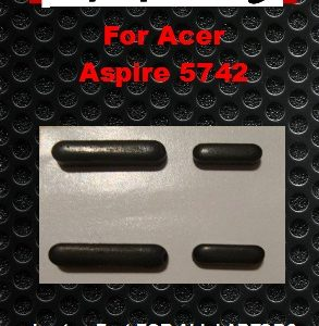 Laptop feet for ACER Aspire 5742 kit compatible  (4 pcs self adh.)