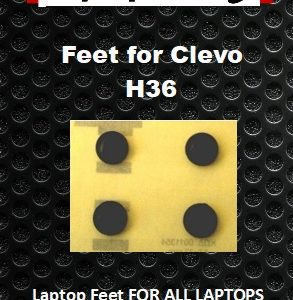 Laptop Feet for CLEVO H36 compatible kit (4 pcs self adhesive)