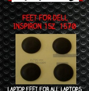 Laptop Feet for DELL Inspiron 15z  1570  compatible kit ( 4 pcs self adhesive 3M)