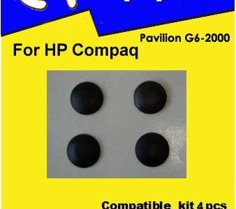 Laptop feet for HP PAVILION G6 G7 compatible kit (4 pcs self adhesive)