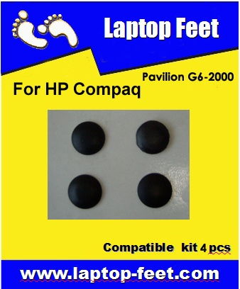 Laptop feet for HP PAVILION G6 G7 compatible kit (4 pcs self adhesive)