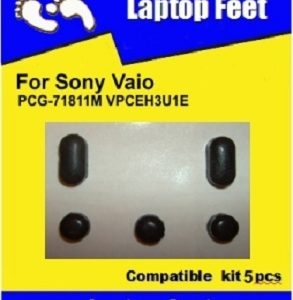 Laptop feet for Vaio VPCEH PCG-71811M compatible kit (4 pcs self adhesive)