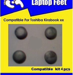 Laptop Feet for Toshiba Kirabook compatible kit ( 4 pcs self adhesive 3m)