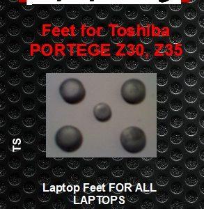 Laptop Feet for Toshiba Portege Z30 xx compatible kit ( 5 pcs self adhesive 3m)