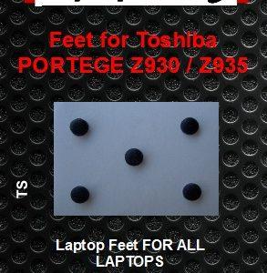 Laptop Feet for Toshiba PORTEGE Z930, Z935 compatible kit ( 5 pcs self adhesive)