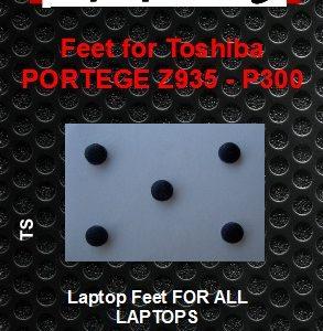 Laptop Feet for Toshiba Portege Z935-P300 compatible kit ( 5 pcs self adhesive 3m)