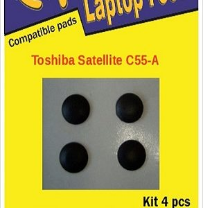 Laptop Feet for Toshiba Satellite C55-A compatible kit (4 pcs self adhesive)