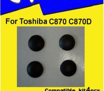 Laptop Feet for Toshiba Satellite C870 C870D kit compatible (4 pcs self adhesive)
