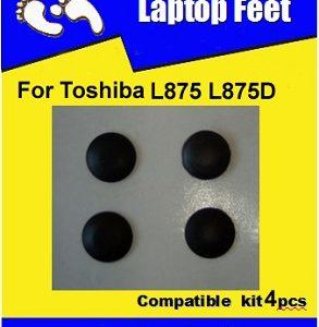 Laptop Feet for Toshiba Satellite L875 L875D kit compatible (4 pcs self adhesive)