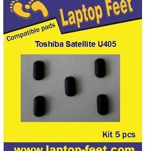 Laptop Feet for Toshiba Satellite U405 U405D compatible kit (5 pcs self adhesive 3M)