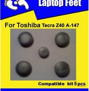 Laptop Feet for Toshiba Tecra Z40 A-147 compatible kit ( 5 pcs self adhesive 3m)