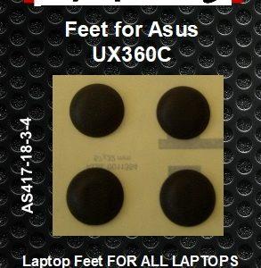 Laptop feet for Asus UX360C  ZenBook compatible kit (4  pcs self adhesive)