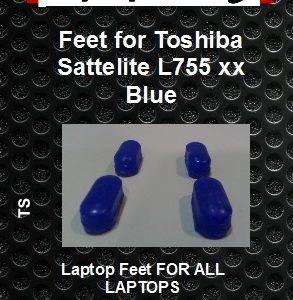 Laptop feet for Toshiba Satelite L755-xxx Blue compatible kit (4 pcs self adhesive) (Copy)