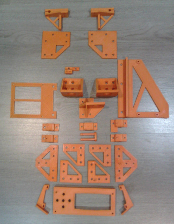 ANET A8 to AM8 Conversion Kit for Metal Frame