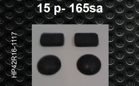 Laptop feet for HP Pavilion 15 p- 165sa compatible kit (4 pcs self adh by 3M)