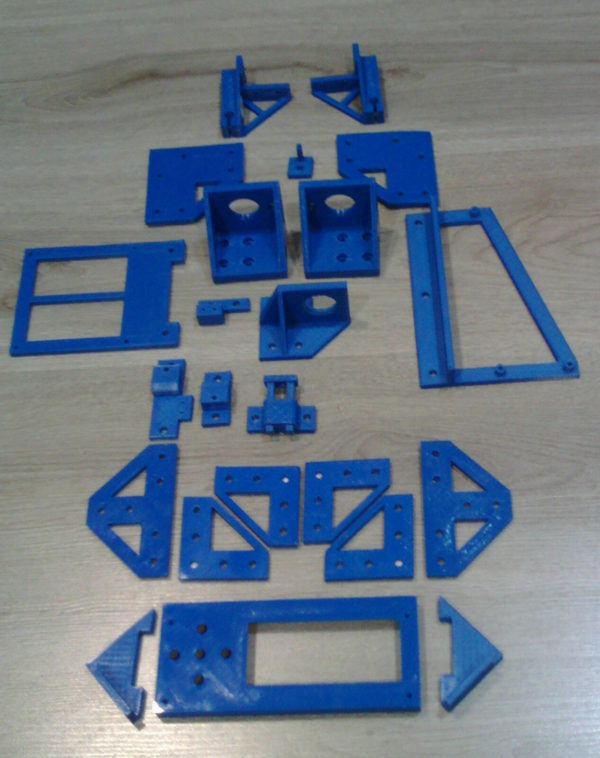 ANET A8 to AM8 Conversion Kit for Metal Frame PETg